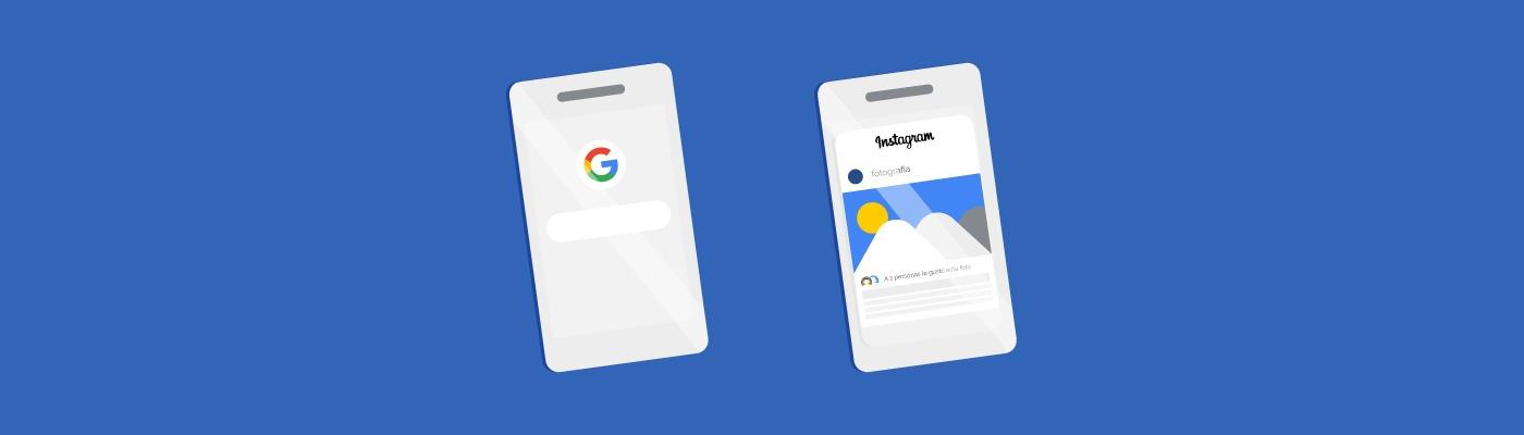 Página web vs redes sociales