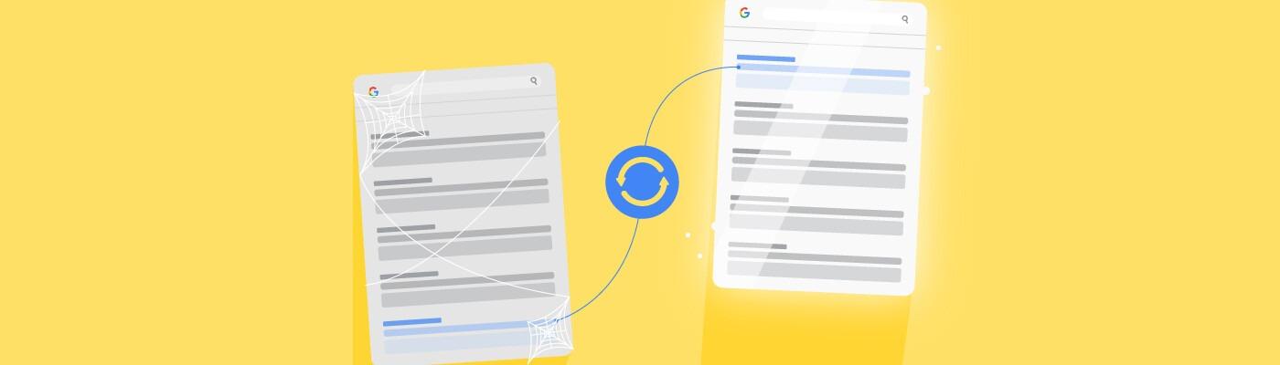 Actualizar contenido: mejor estrategia para mejorar el posicionamiento de tu web