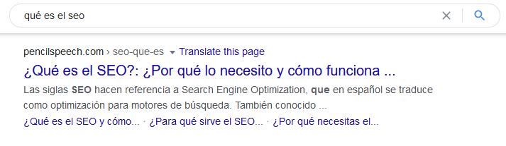 Sitio web posicionado con las keywords de su industria