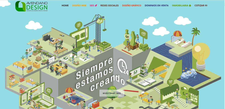 avendano design agencia SEO en venezuela