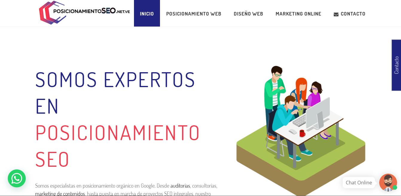 Posicionamiento SEO agencia SEO en venezuela