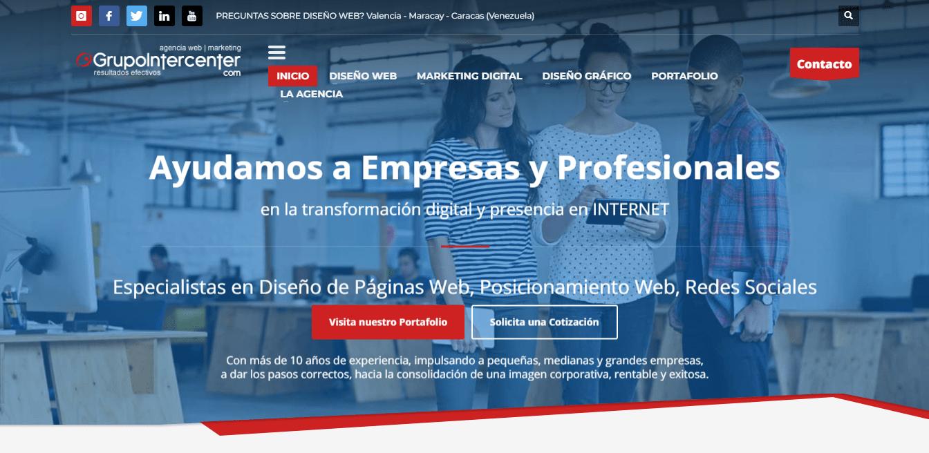 grupo intercenter agencia SEO en venezuela