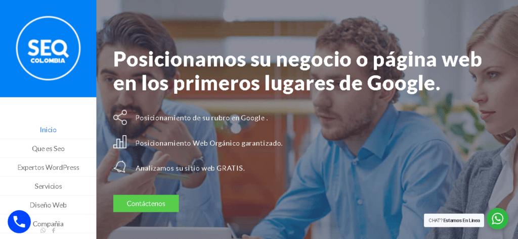 Agencia SEO Colombia