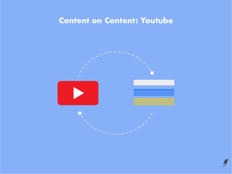 ¿Cómo hacer content on content en y con YouTube?
