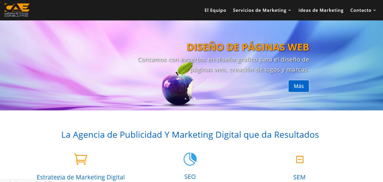 CAE Marketing - Home